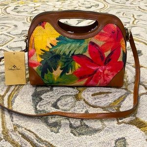💕 Patricia Nash spring multi straw sanza nwt $199
